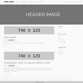 Siddharth Singh create the White Top Show theme for wordpress with responsive feature